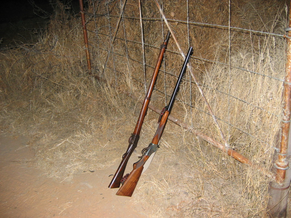 First African Safari Rifles