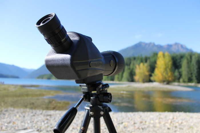 leupold sx-1 ventana spotting scope review