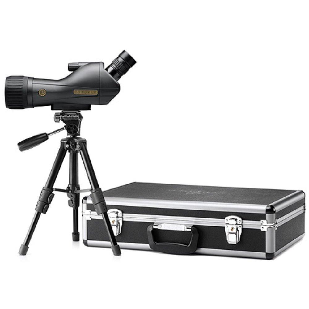 Leupold SX-1 Ventana Spotting Scope Review angled kit