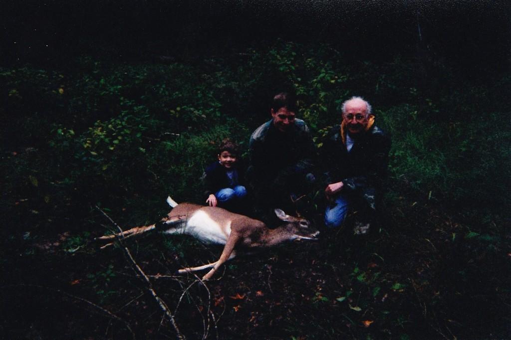 take a kid hunting little buck