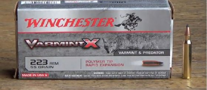 Winchester .223 Remington 55gr Varmint X Review