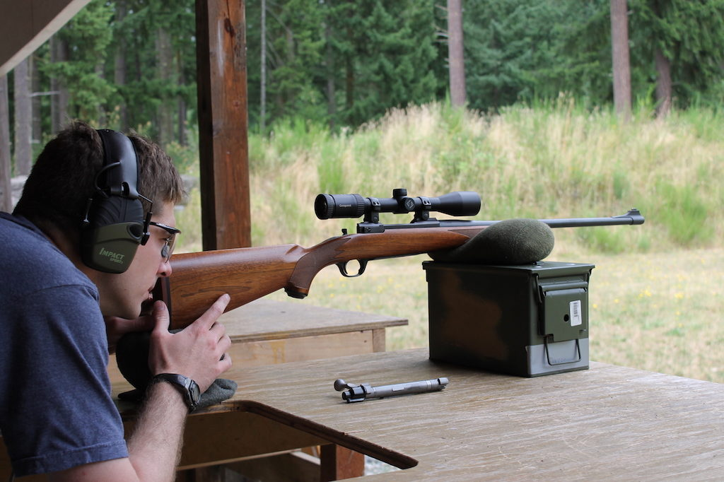 how to sight in a rifle boresight