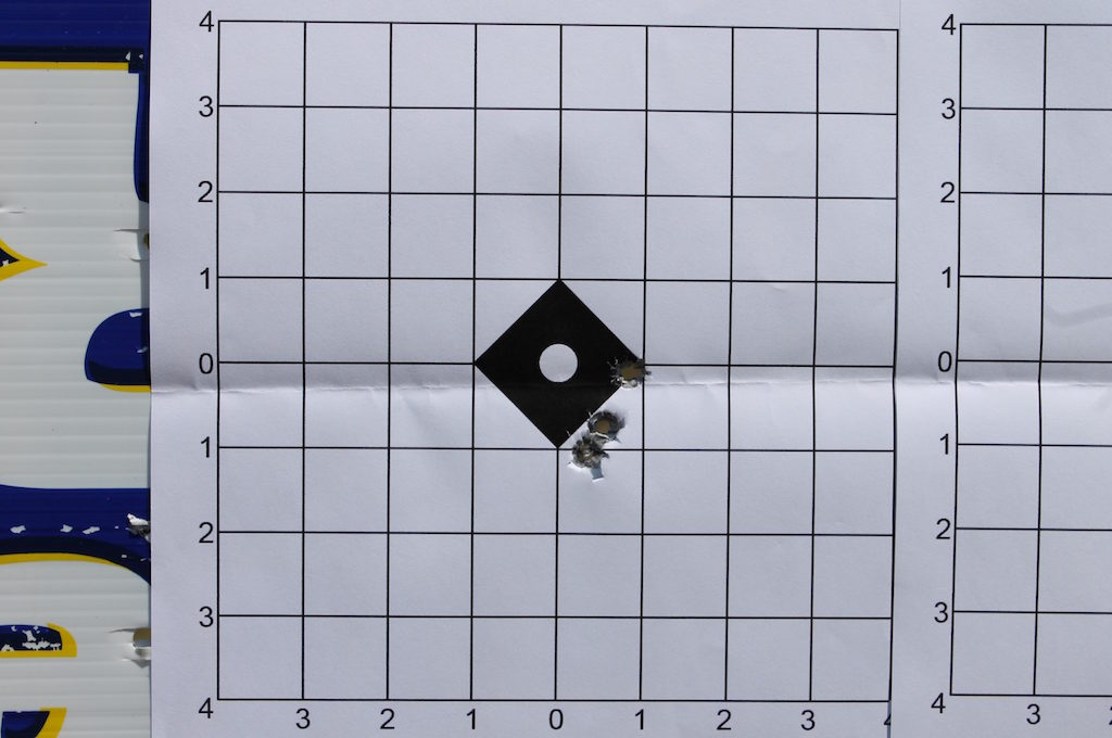 how to sight in a rifle target 1
