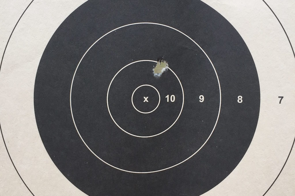 how to sight in a rifle target 2
