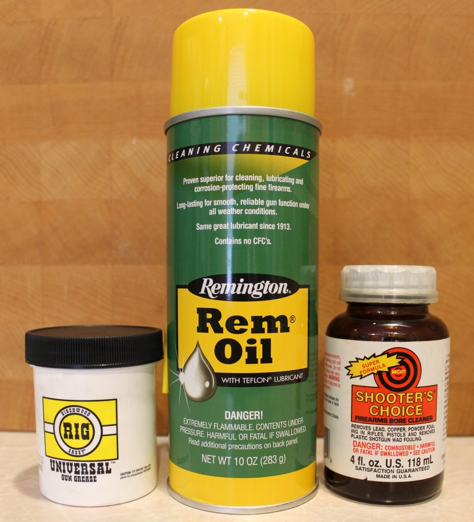 how to clean a rifle cleaning products