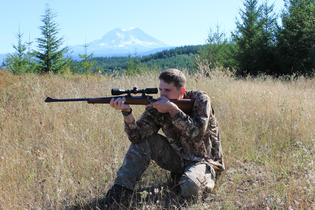 best hunting shooting positions kneeling