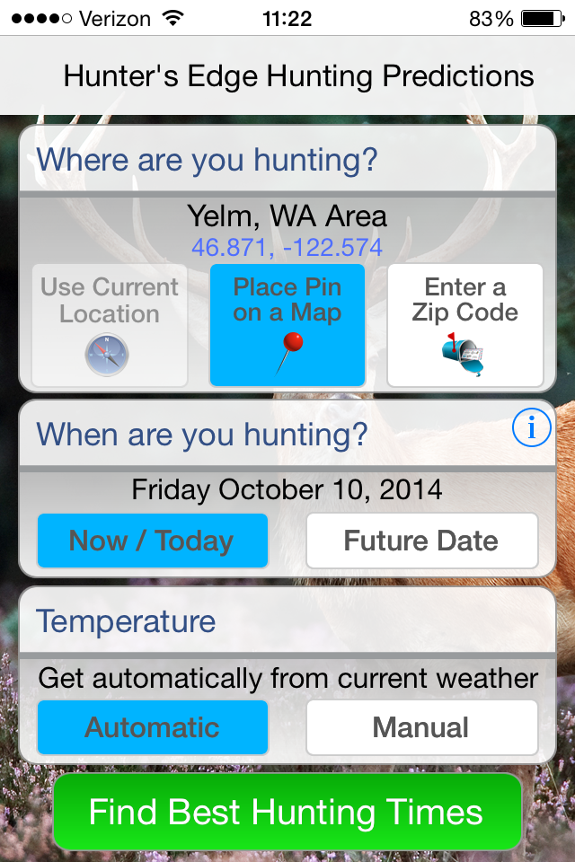 Deer Hunter's Edge App review 3