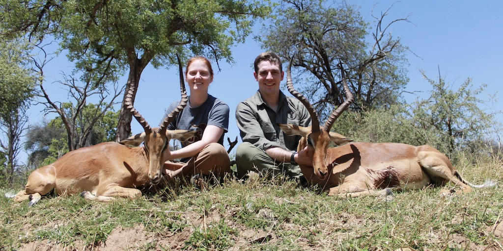 picture of 2 impala kok & seyffert big game hunting