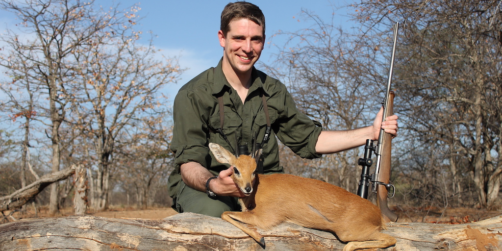 picture of steenbok kok & seyffert big game hunting