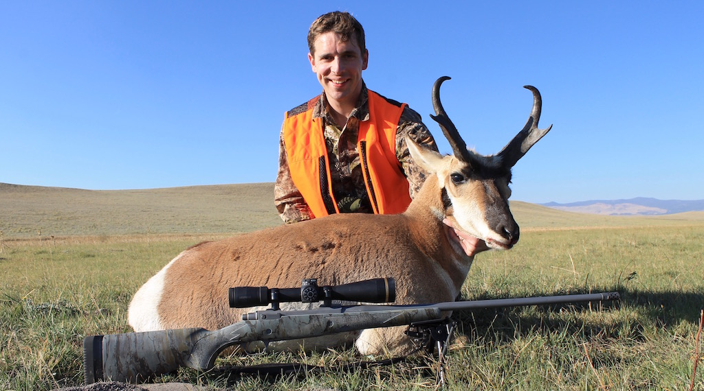 how to take a good trophy photo pronghorn