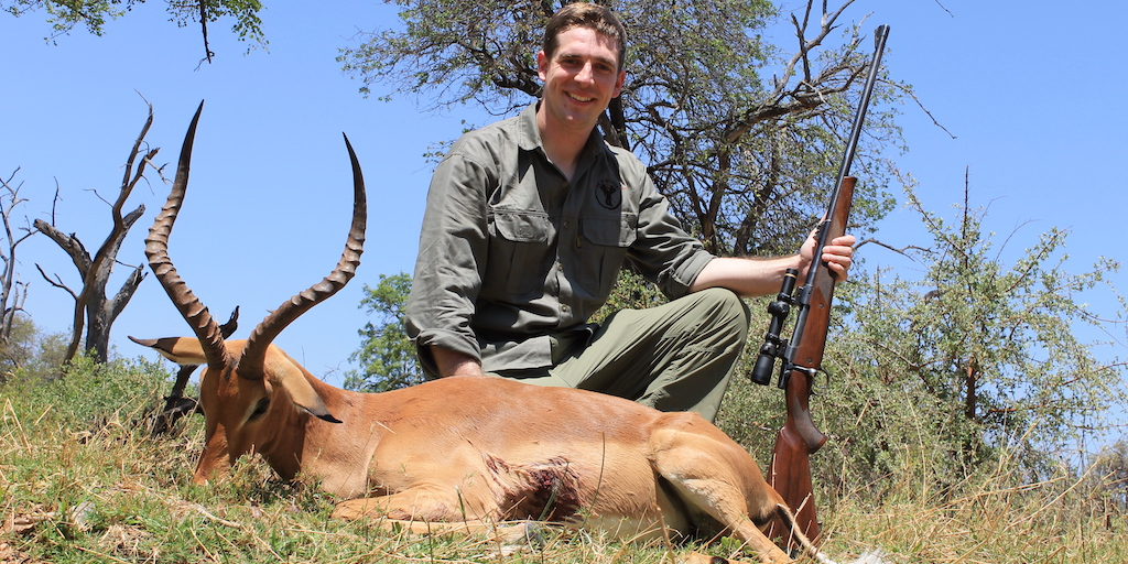 picture of impala trophy photo