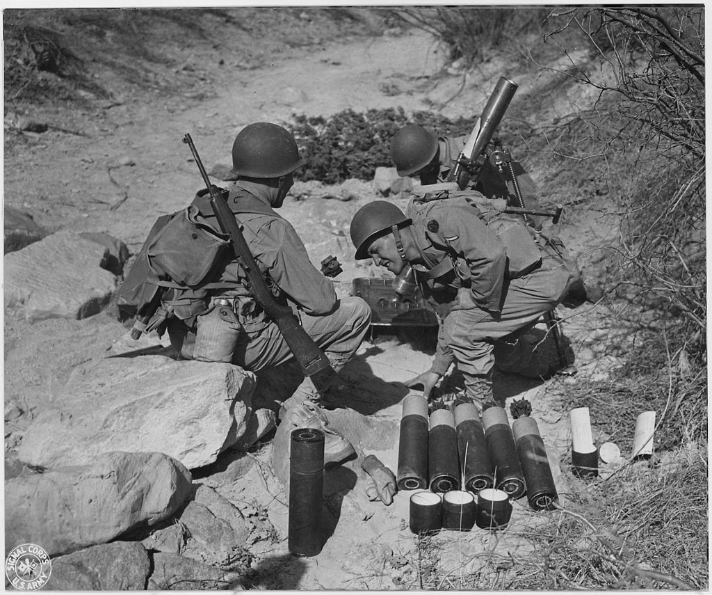 .30 carbine mortar crew