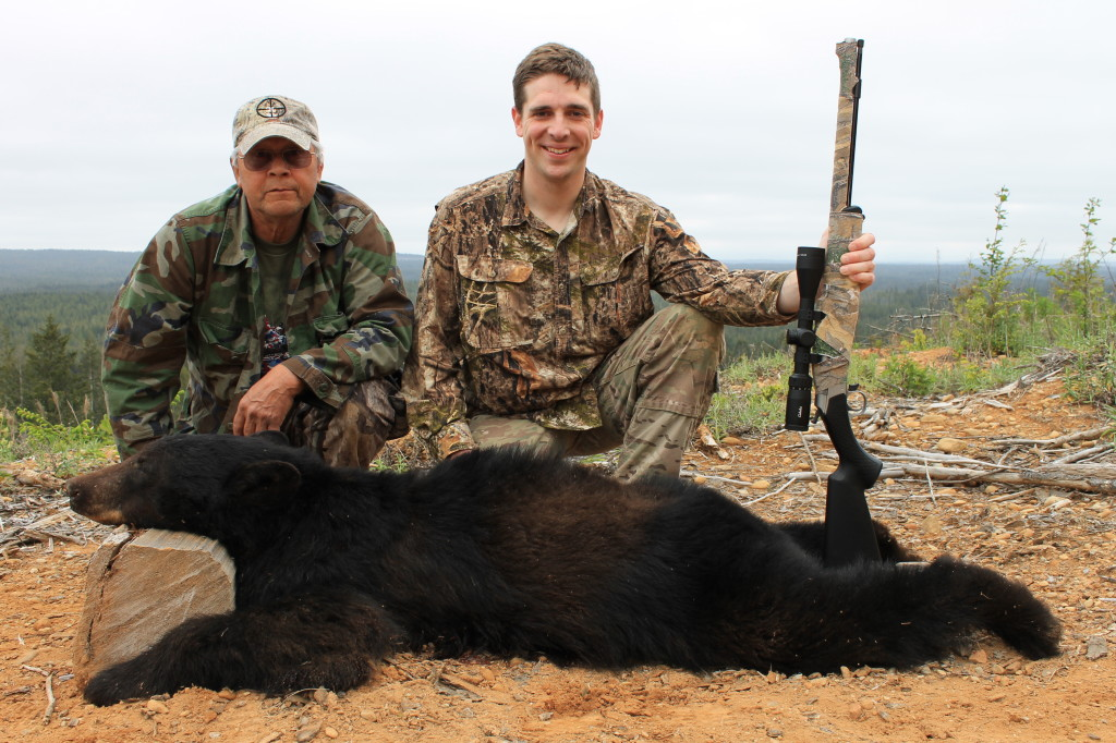 Spring Bear Hunt With M&D Bear Guide Service vern me