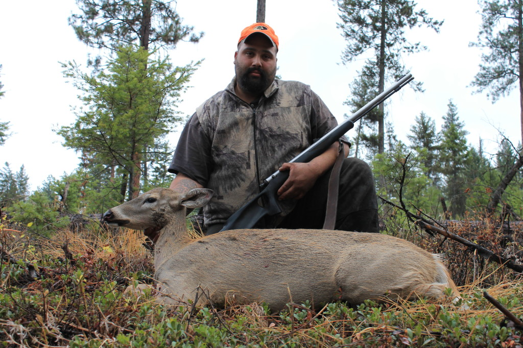muzzleloader deer hunting in Eastern Washington Danny