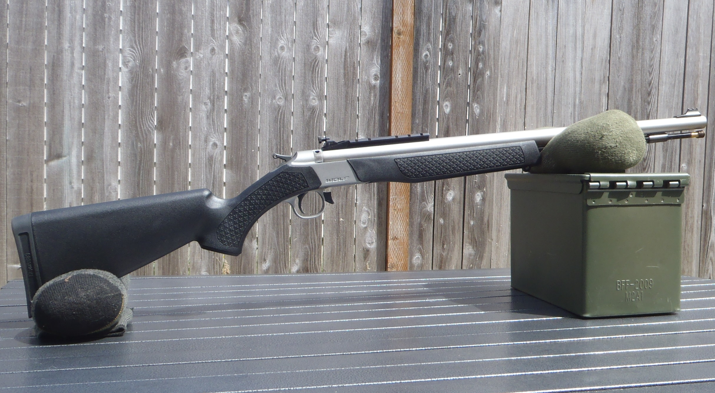 Hunting with a 45 caliber muzzleloader rifle