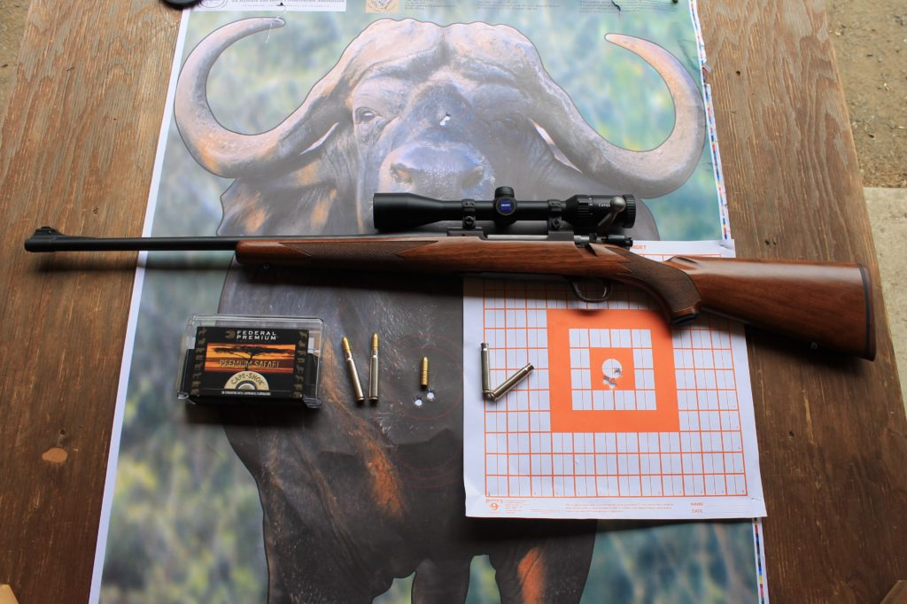 9.3x62mm Barnes 9.3x62mm Barnes Banded Solid Review target
