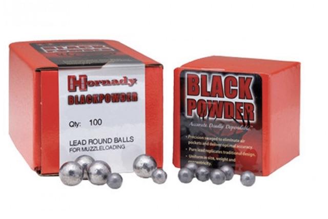 best muzzleloader bullets hornady round ball