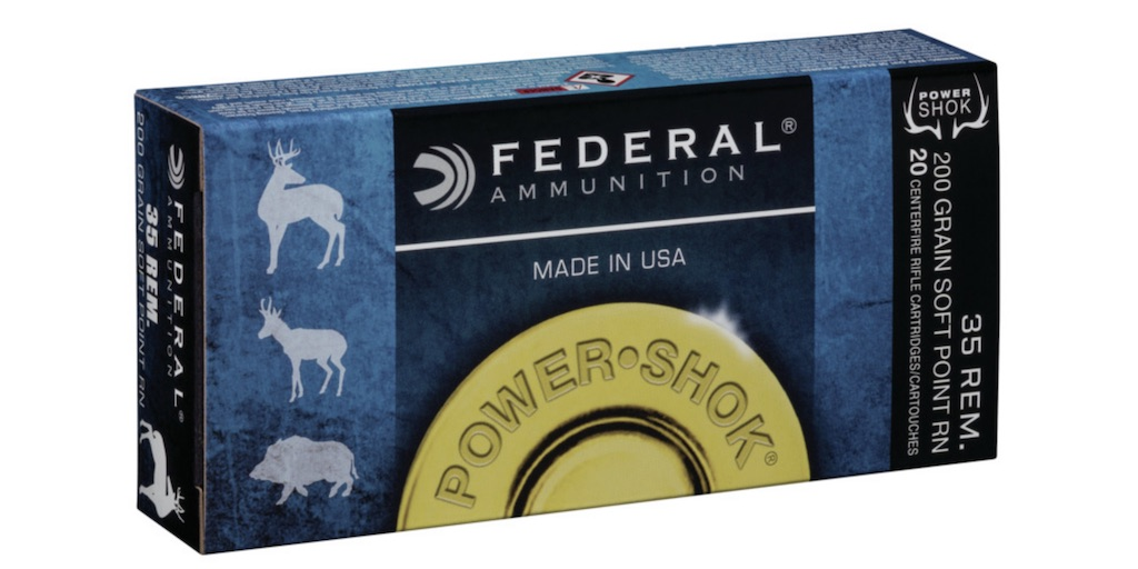 Best .35 Remington Ammo For Hunting Deer, Bear & Other Big Game federal
