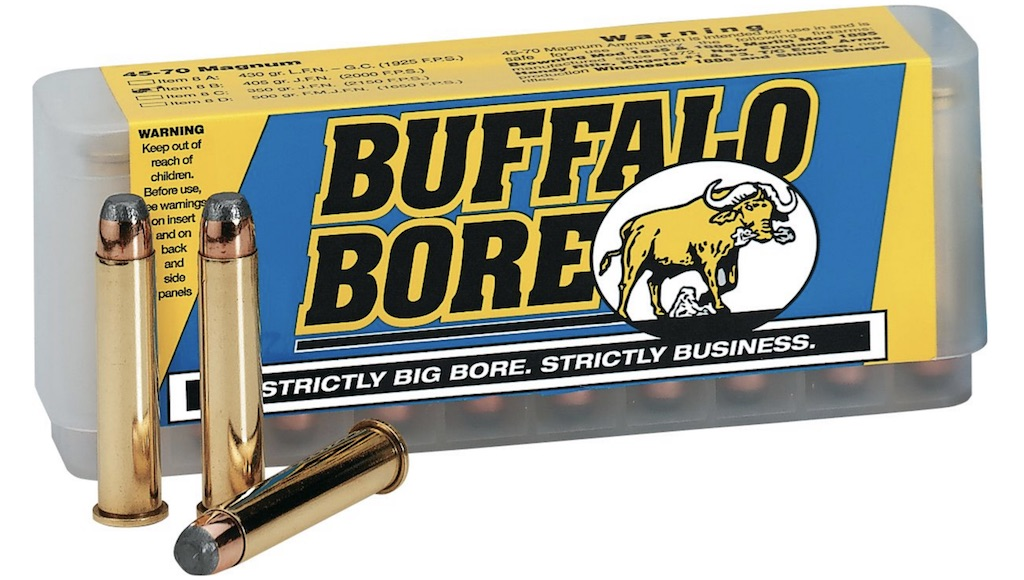Best .45-70 Ammo For Hunting Deer, Bear, Moose, & Other Big Game buffalo bore