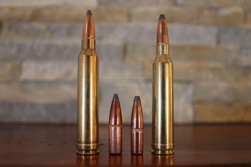 7mm Rem Mag vs 300 Win Mag bullet size