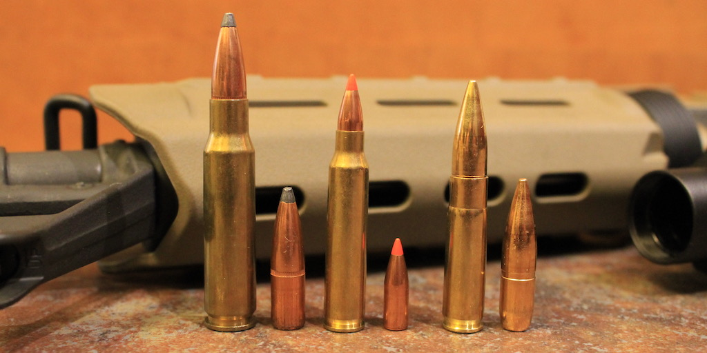 5.56 vs 300 Blackout vs 308 Winchester bullets