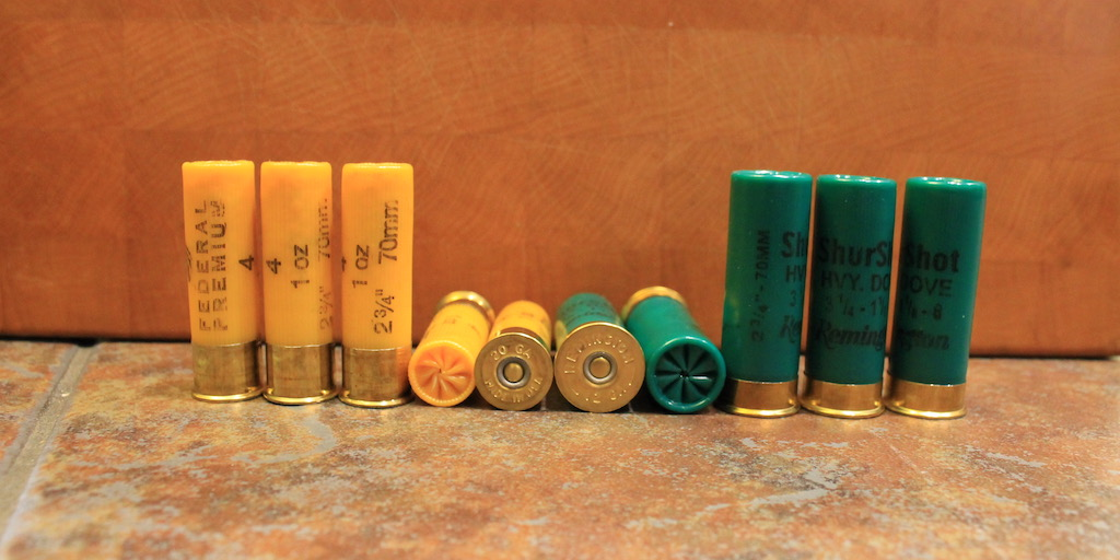 photo of shotgun gauges 12 gauge vs 20 gauge