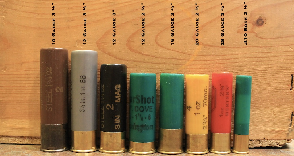 photo of shotgun gauges