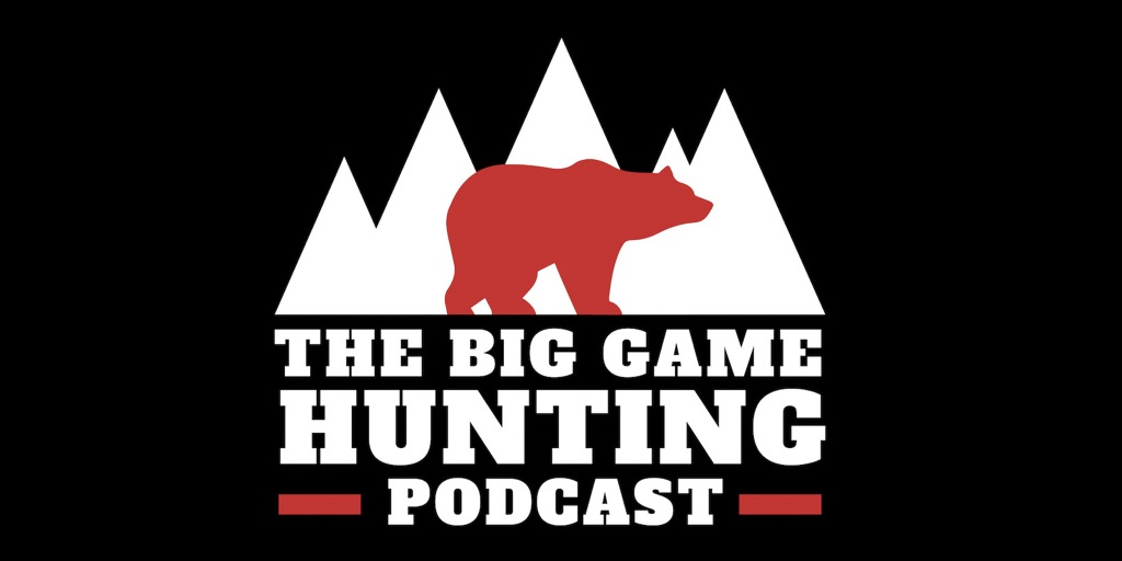 picture of big game hunting podcast logo cape buffalo hunting