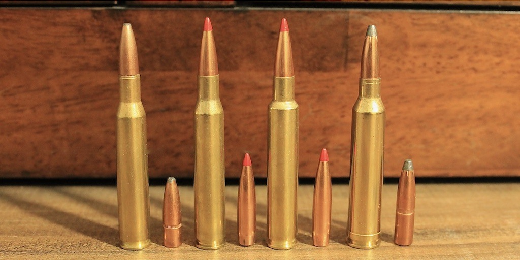 picture of 270 vs 280 remington vs 280 ackley improved vs 7mm rem mag bullets