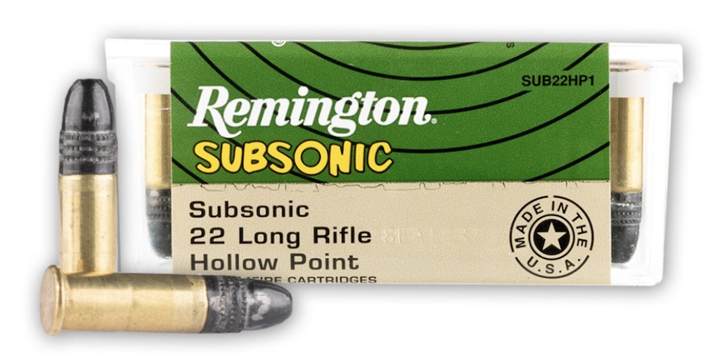 picture of best 22lr ammo for accuracy remington subsonic