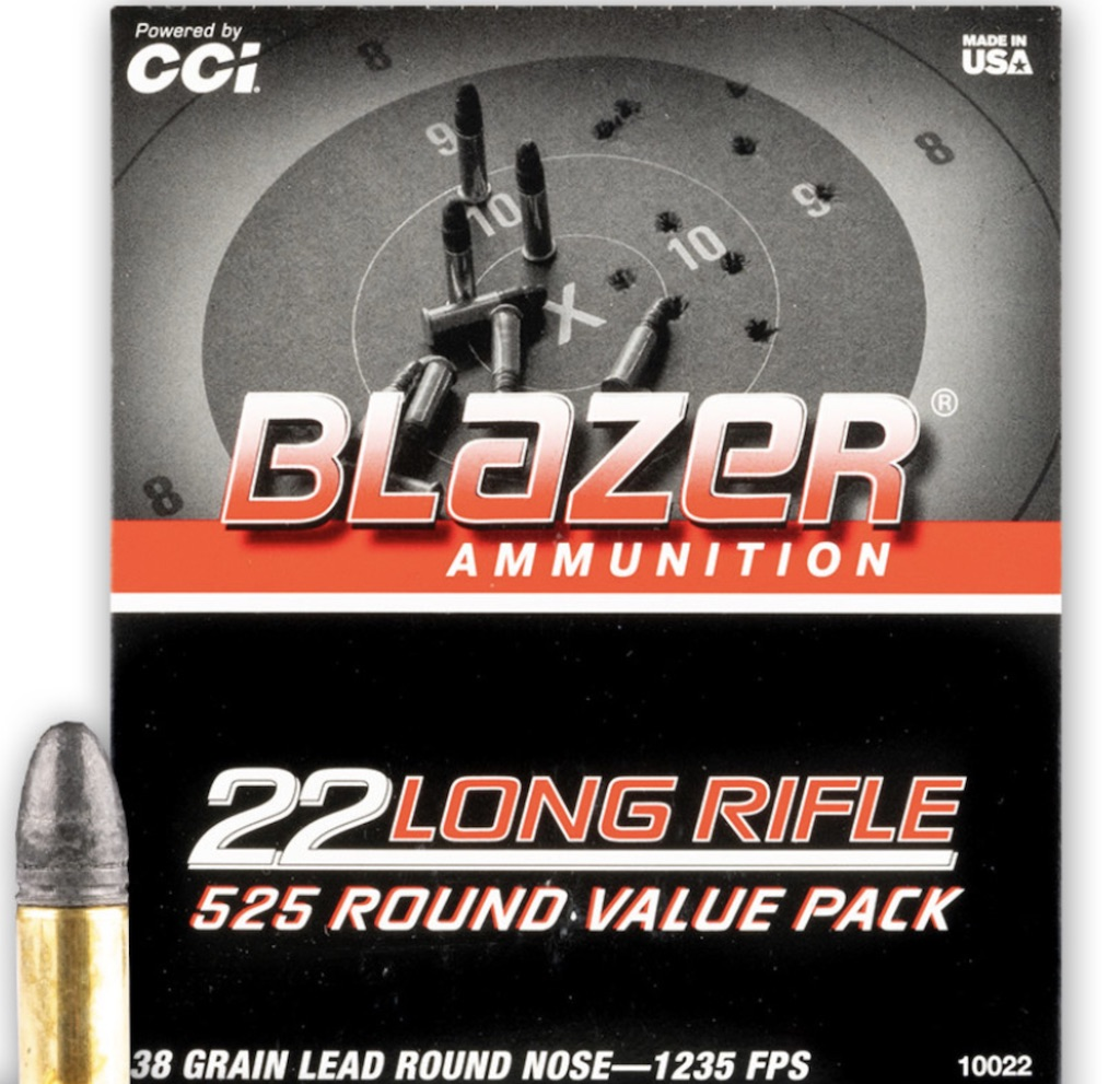 picture of best 22lr ammo for hunting blazer