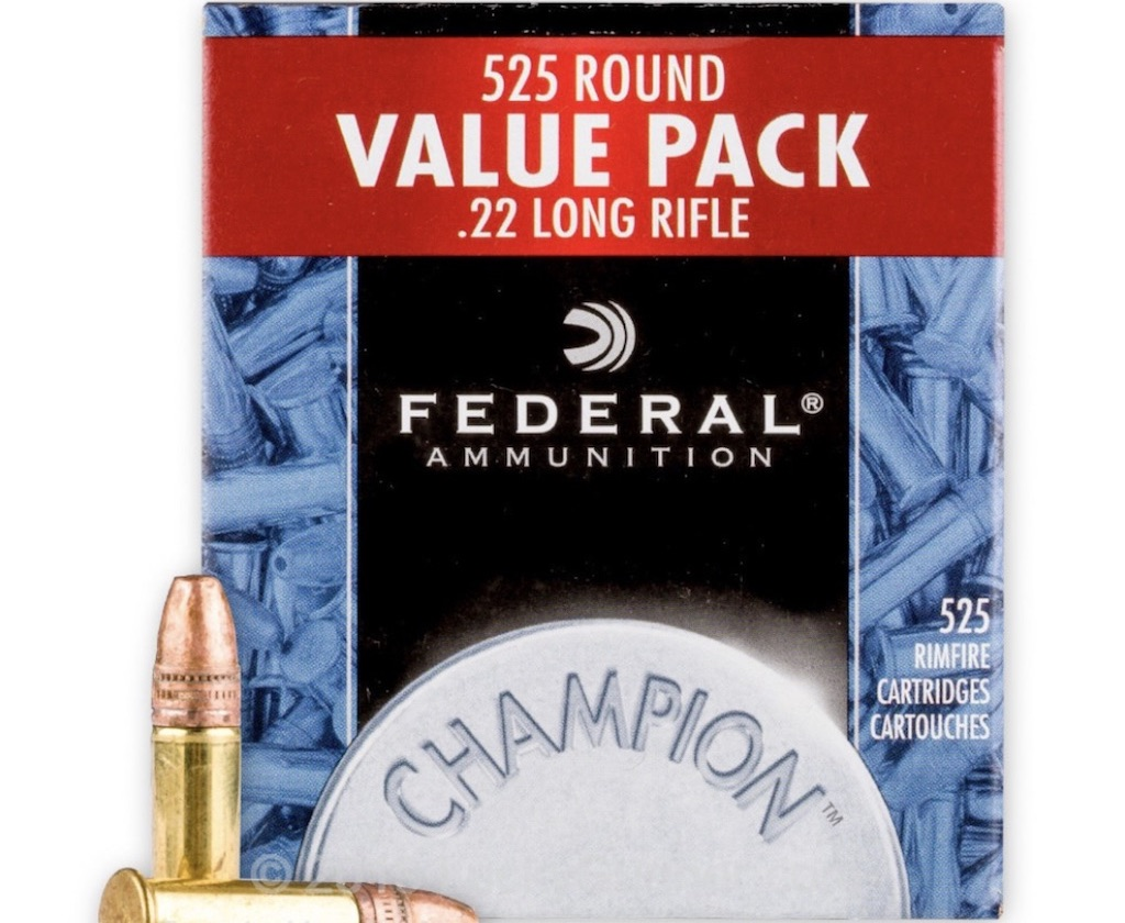 picture of best 22lr ammo for hunting federal champion