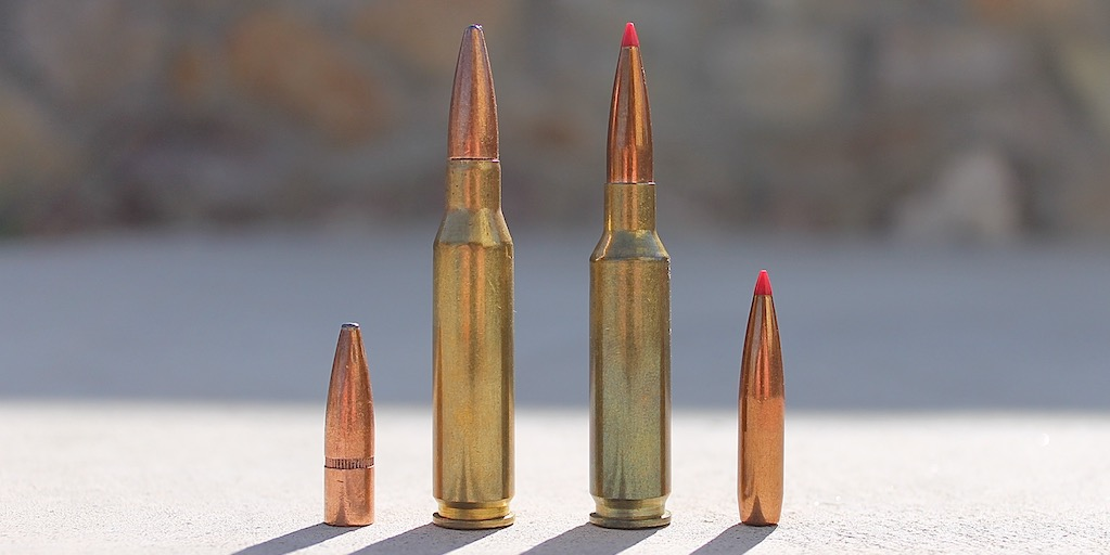 picture of 6.5 creedmoor vs 7mm-08 bullets