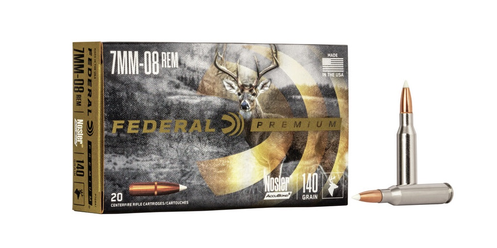 Best 7mm-08 Ammo For Hunting federal accubond