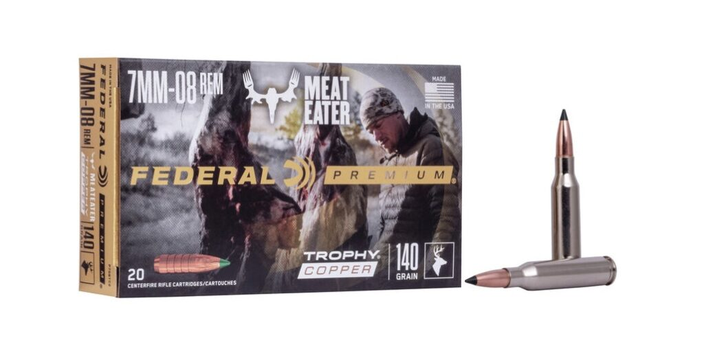 Best 7mm-08 Ammo For Hunting federal trophy copper