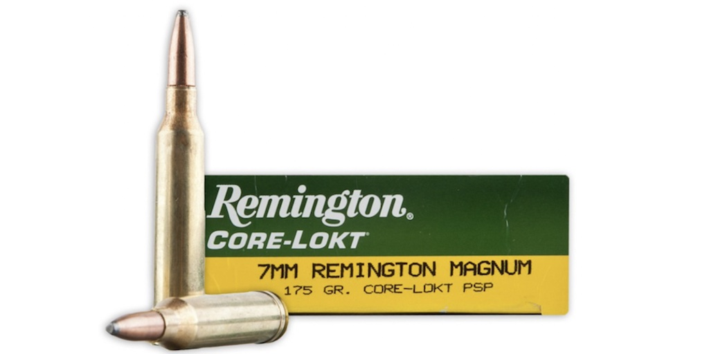 picture of best 7mm rem mag ammo for elk and deer core lokt