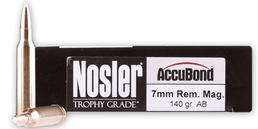 picture of best 7mm rem mag ammo for elk and deer accubond