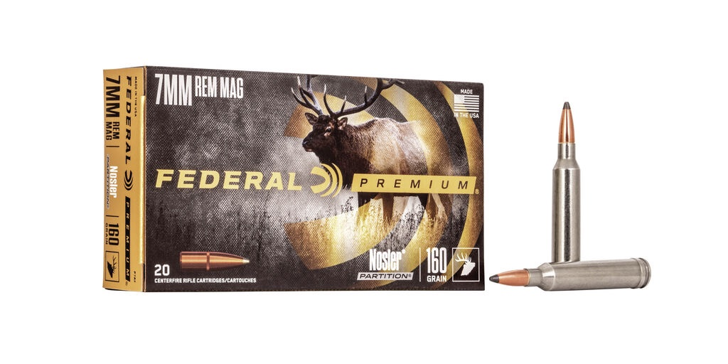 picture of best 7mm rem mag ammo for elk and deer partition