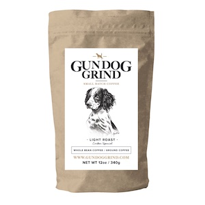 picture of best gifts for hunters gundog grind coffee