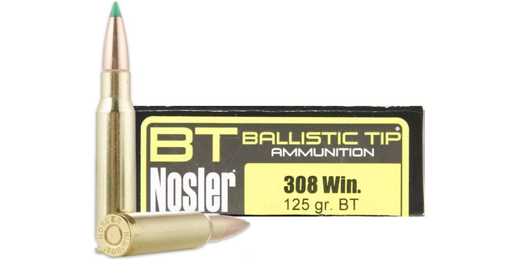picture of Best 308 Ammo For Hunting Deer, Elk, Hogs, & Other Game ballistic tip