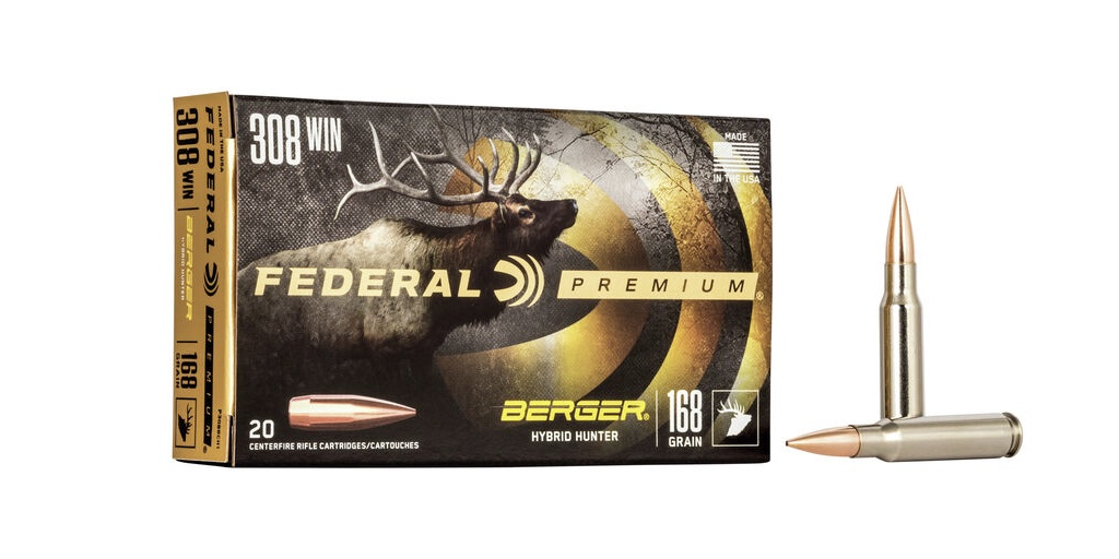 picture of Best 308 Ammo For Hunting Deer, Elk, Hogs, & Other Game berger