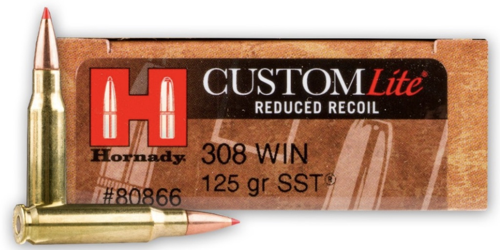 picture of Best 308 Ammo For Hunting Deer, Elk, Hogs, & Other Game hornady lite
