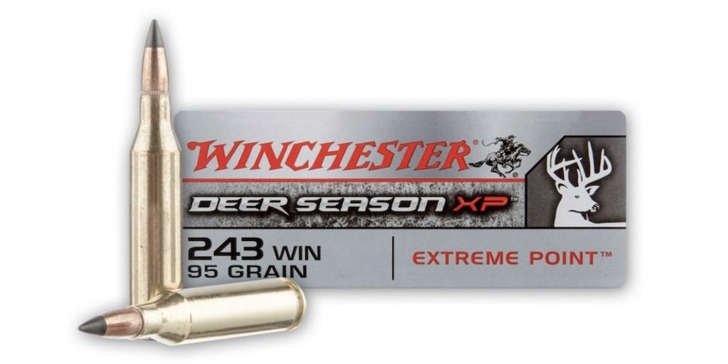 picture of best 243 ammo for deer hogs and varmints deer season