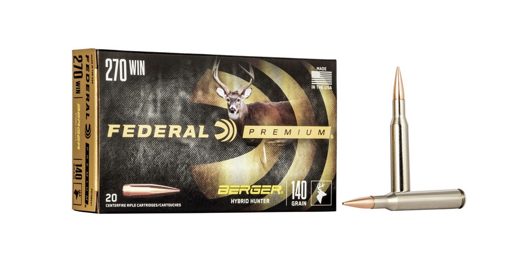 picture of best 270 ammo for deer and elk berger hybrid hunter