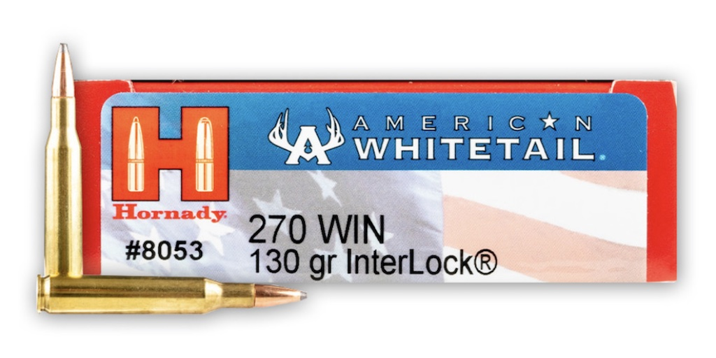 picture of best 270 ammo for deer and elk hornady american whitetail