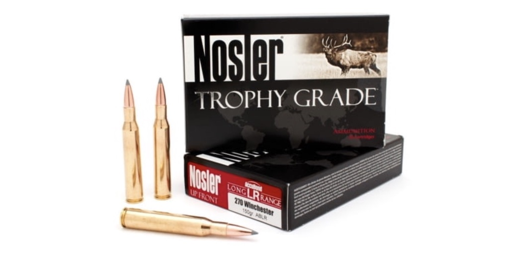 picture of best 270 ammo for deer and elk nosler accubond