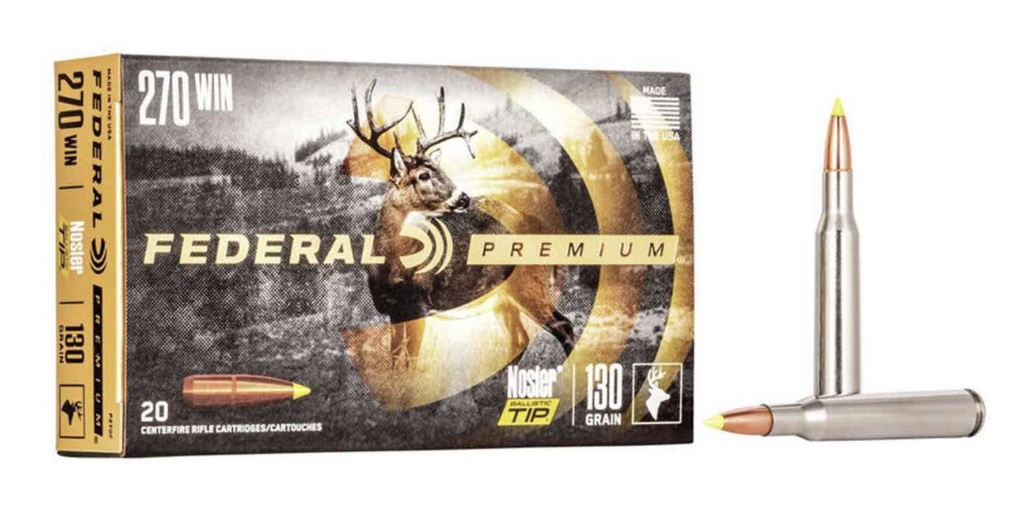 picture of best 270 ammo for deer and elk nosler ballistic tip